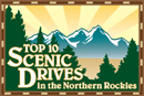 top 10 scenic drives in the northern rockies